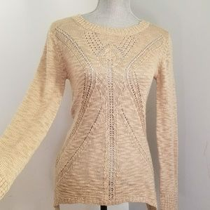 ALMOST FAMOUS Lightweight Knit SWEATER Open Weave